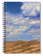 Great Colorado Sand Dunes Mixed View Spiral Notebook