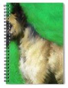 Great Dane Portrait  Spiral Notebook