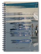 Great Day For Sailing Spiral Notebook