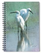 Great Egrets Spiral Notebook