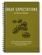 Great Expectations By Charles Dickens Greatest Books Ever Series 023 Spiral Notebook