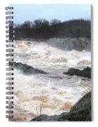 Great Falls Torrent Spiral Notebook
