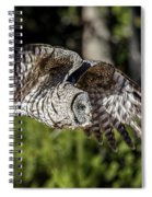 Great Grey Owl  Spiral Notebook