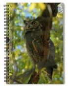 Great Horned Majesty Spiral Notebook
