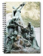 Great Lakes Fountain Spiral Notebook