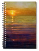 Great Lakes Setting Sun Spiral Notebook