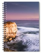 Great Ocean Road Seascape Spiral Notebook