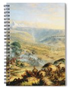 Great Peak Of The Amatola-british-kaffraria  Spiral Notebook
