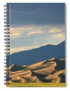 Great Sand Dunes, Colorado Spiral Notebook