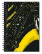 Great Sax Spiral Notebook