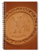 Great Seal Of The State Of New Mexico 1912 Spiral Notebook