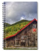 Great Smoky Mountains Barn Spiral Notebook