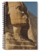 Great Sphinx Of Giza Spiral Notebook