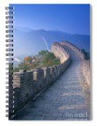 Great Wall Of China Spiral Notebook