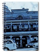 Great Western Perth Cyan Spiral Notebook