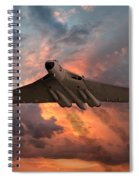 Great White Vulcan Spiral Notebook