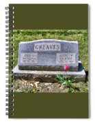 Greaves Spiral Notebook