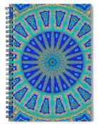 Grecian Tiles No. 2 Spiral Notebook