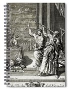 Greek Astronomer Studying The Stars Spiral Notebook