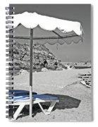 Greek Umbrella Spiral Notebook