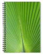 Green Abstract No. 2 Spiral Notebook