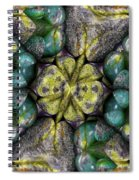 Green And Blue Stones 2 Spiral Notebook