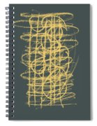 Green And Gold 1 Spiral Notebook