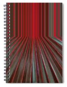 Red Room Spiral Notebook