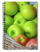Green Apples Spiral Notebook