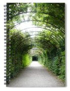 Green Arbor Of Mirabell Garden Spiral Notebook