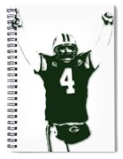 Green Bay Packers Bret Favre 3 Spiral Notebook