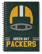 Green Bay Packers Vintage Art Spiral Notebook