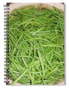 Green Beans  Spiral Notebook