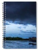 Green Cay Storm 6 Spiral Notebook