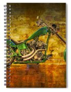 Green Chopper Spiral Notebook