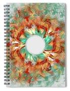 Green Comet Spiral Notebook