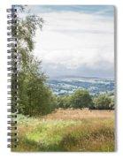 Green Corridor Spiral Notebook