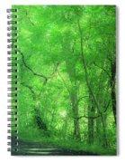 Green Creeper Spiral Notebook