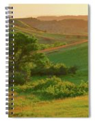 Green Dakota Dream Spiral Notebook