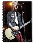 Green Day Billie Joe Armstrong Spiral Notebook