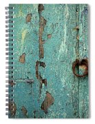 Green Door. Essaouira. Morocco Spiral Notebook