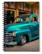 Green Dreams Spiral Notebook