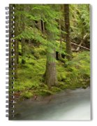 Green Eden Spiral Notebook