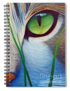 Green Eyes Spiral Notebook