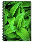 Green False Hellebore Spiral Notebook