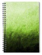 Green Fire Spiral Notebook