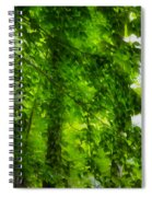 Green Forest Trees 1 Spiral Notebook