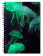 Green Freakiness Spiral Notebook