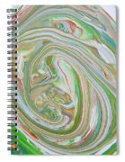 Green Garden  Spiral Notebook