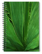 Green Glow Spiral Notebook